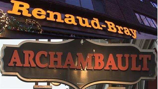 Renaud-Bray acquiert la chaîne de magasins Archambault