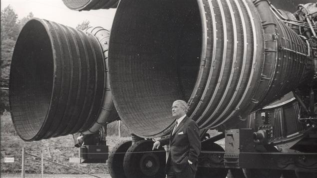 Wernher von Braun, rapatrié durant l'Opération Paperclip, a ensuite travaillé pour la NASA