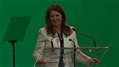 La présidente de l'UMQ, Suzanne Roy