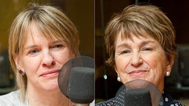 Josée Blanchette et Jacqueline Lagacé