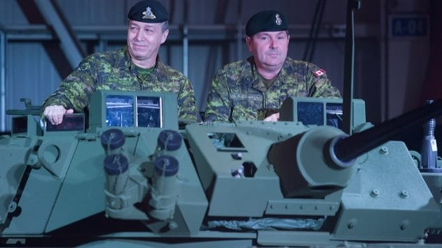 The Liberal government signed export permits last year for a $15-billion deal under which London, Ont.-based manufacturer General Dynamics Land Systems is supplying armoured vehicles to Saudi Arabia.