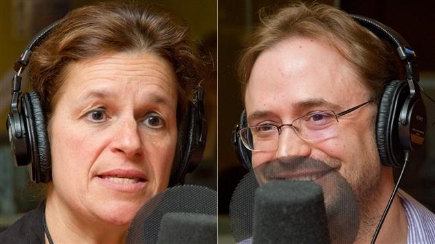 Olga Ranzenhofer et Danick Trottier