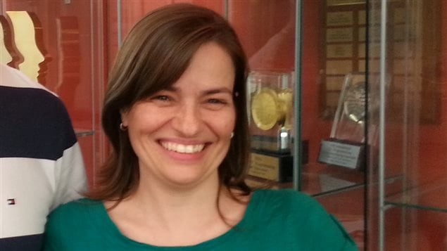 Ève Langelier, Chaire pour les femmes en Sciences et en Génie au Québec.