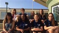 Jeux francophones de l'Alberta : de jeunes journalistes en herbe à l'œuvre