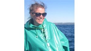 Lindsay Davidson, PhD candidate in in marine biodiversity and conservation at Simon Fraser University, British Columbia