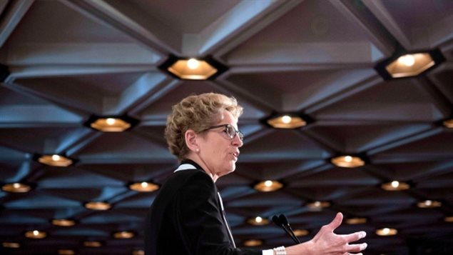 Ontario's premier has defended the partial sale of Hydro One, insisting there will be oversight of the electricity utility after the government sells off up to 60 per cent of the operation. Kathleen Wynne was responding to criticism from several provincial oversight agencies that the public would continue to own much of the utility, but not get to exercise much scrutiny over it.