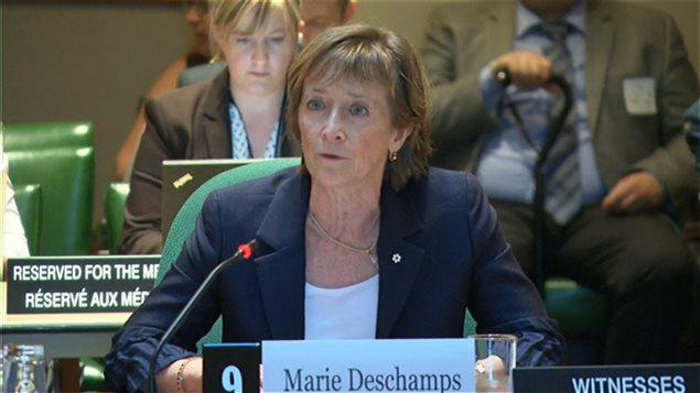 Marie Deschamps, ex jueza de la Corte Suprema de Canadá.