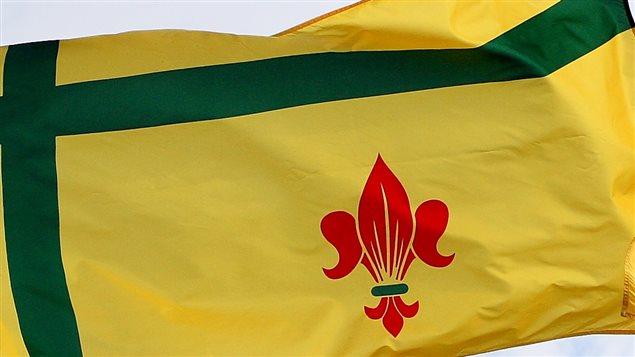 Le drapeau fransaskois