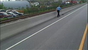 Ce chauffeur d'autobus de Gatineau n'a écouté que son bon coeur et a décidé d'aider des canetons coincés sur le Rapibus.