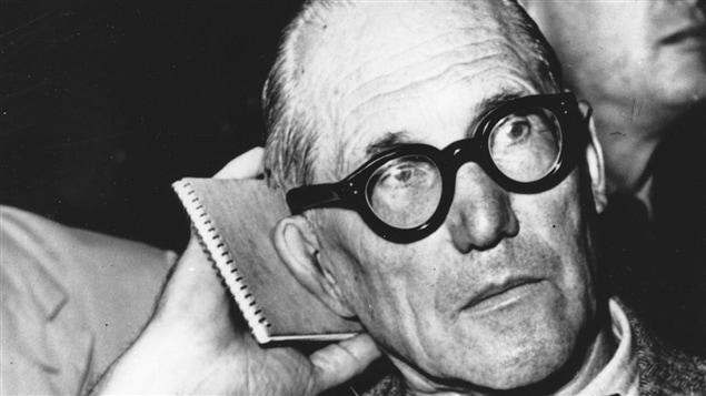 L'architecte Charles-�douard Jeanneret-Gris, dit Le Corbusier