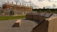 La centrale au charbon abandonnée de Rossdale à Edmonton.