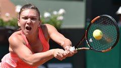 Simona Halep stoppée à Roland-Garros