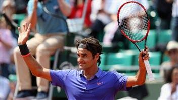Federer, Berdych et Wawrinka avancent à Roland-Garros
