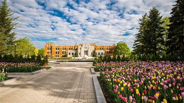 Les jardins d'accueil du Jardin botanique de Montréal