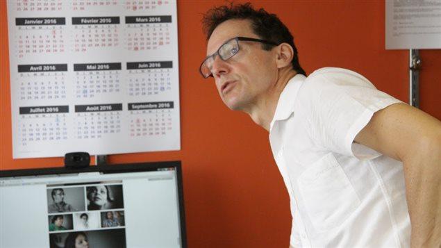 Luc Simard, director de la Diversidad en Radio Canadá.