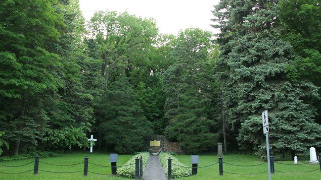 Le petit cimetière militaire britannique sur l'île Sainte-Hélène