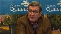 Labeaume rabroue Legault, qui estime que PKP nuit au retour de la LNH à Québec