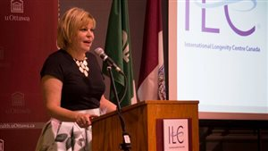 Margaret Gillis, founding president of the ILC-Canada, hosted and partnered with the University of Ottawa Facutly of Health Sciences