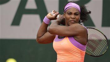 Serena dans la douleur, Bouchard stoppée en double