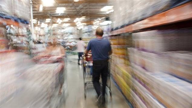 Faire ses courses dans une supermarché