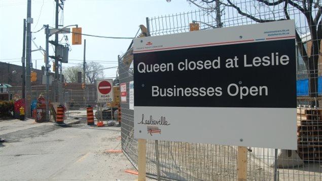 Les travaux autour de l'entrepôt de tramways de la TTC sont encore retardés.