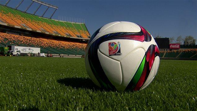 Le stade Commonwealth d'Edmonton où se tiendra le match d'ouverture de la Coupe du monde de soccer féminin, le 6 juin.