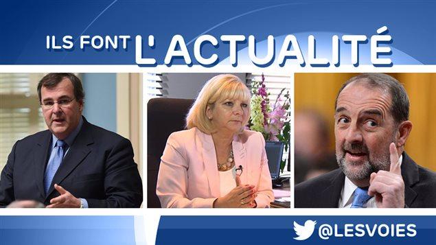 François Blais, Josée Bouchard, Denis Lebel