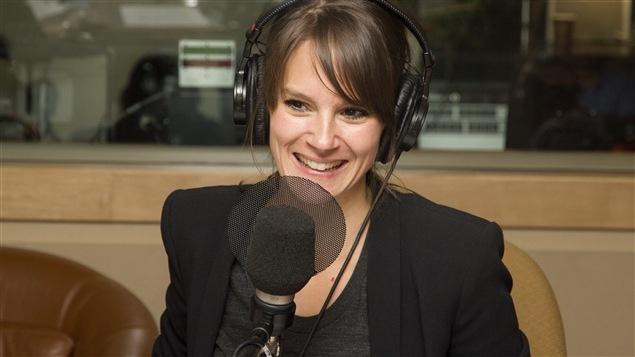 La chanteuse, comédienne et écrivaine Stéphanie Lapointe