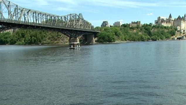 la riviere des Outaouais