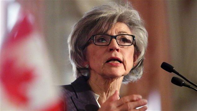 رئيسة المحكمة الكندية العليا بيفرلي ماكلاكلن التي أعلنت عن تقاعدها أواخر العام الحالي
