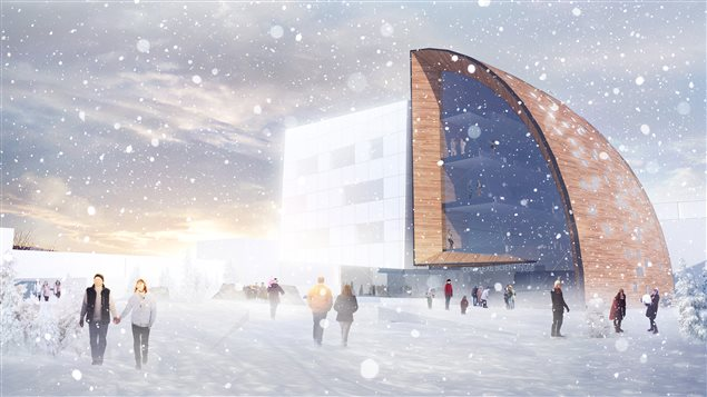 Un complexe scientifique consacré aux recherches sur le Nord et l'Arctique.
