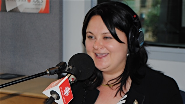 La députée néodémocrate de Québec, Annick Papillon.