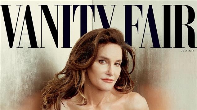 Bruce Jenner sur la page couverture de « Vanity Fair ».