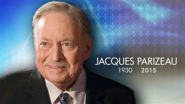 Mort à l'âge de 84 ans, Jacques Parizeau a été l'un des architectes de la Révolution tranquille.
