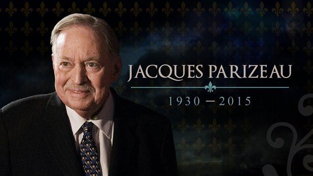 Décès de Jacques Parizeau