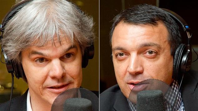 Martin Riopel et Thierry Karsenti