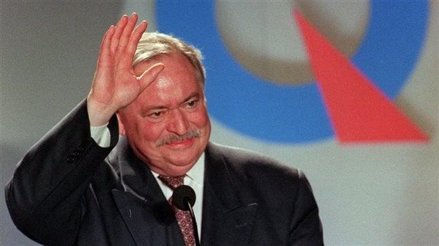 Jacques Parizeau en 1995 (BUREAU ÉDITO)