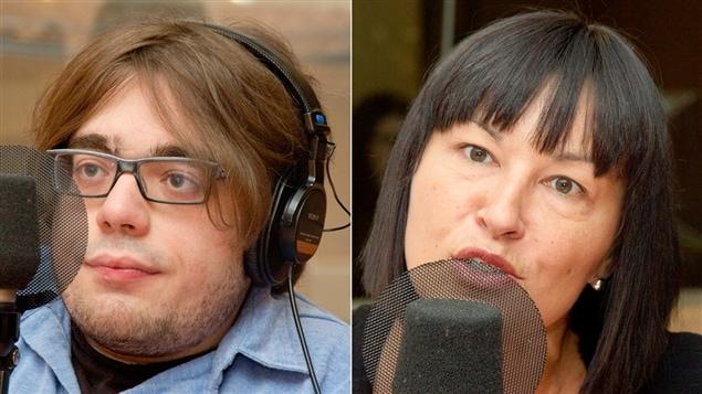 Kéven Breton et Chantal Petitclerc