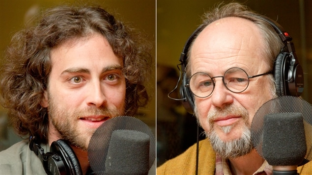 Joël Proulx-Bouffard et Roger Parent