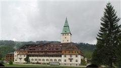 L'hôtel Schloss Elmau en Allemagne.