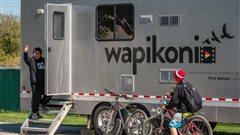 Le Wapikoni mobile de retour sur l'Île Manitoulin