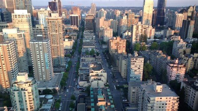 صورة لوسط مدينة فانكوفر (أرشيف)