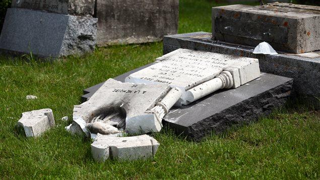 Le cimetière Saint-Charles a été vandalisé