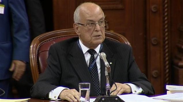 Le jurisconsulte de l'Assemblée nationale, Claude Bisson