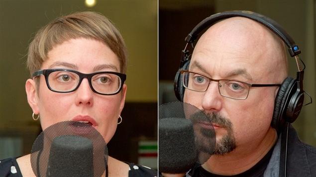 Mélissa Blais et Francis Dupuis-Déri