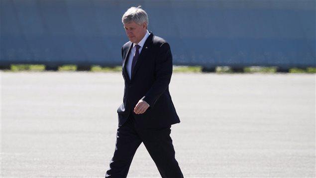 Le premier ministre Stephen Harper.