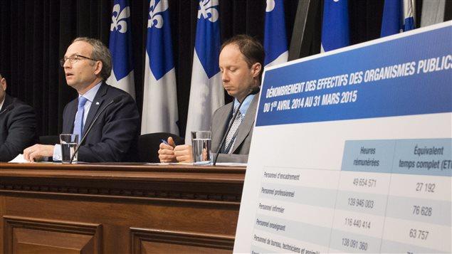 Le ministre Martin Coiteux, à Québec, le 4 juin