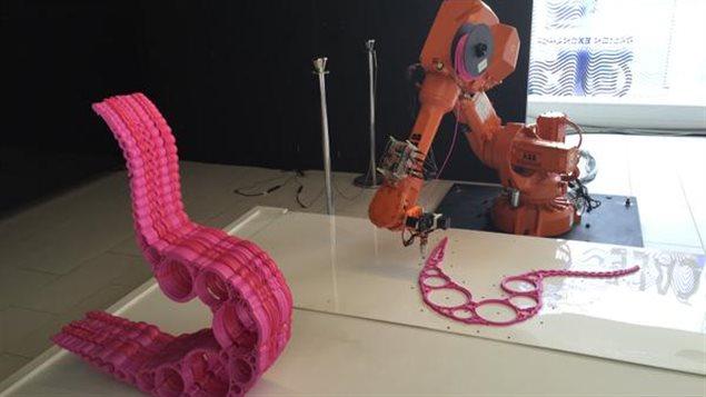 L'exposition 3D XL présenté par le musée Design Exchange.