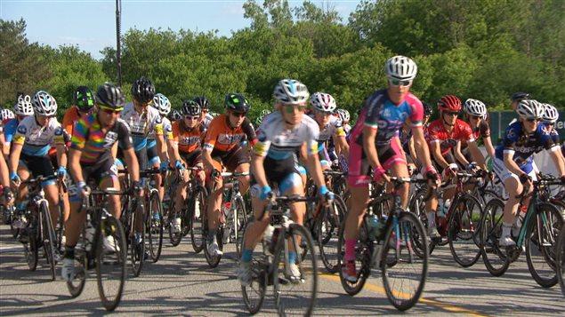 Les participants sont nombreux au Grand Prix cycliste de Gatineau