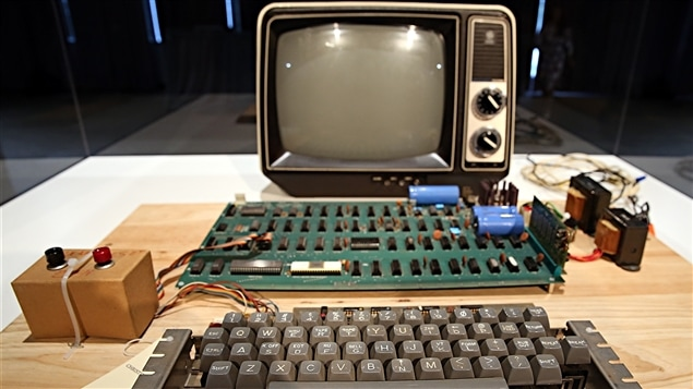 Un ordinateur Apple-1
